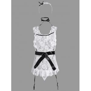 Lace Ruffles Maid Cosplay Costume