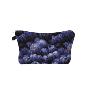 Sac à maquillage à embrayage imprimé aux fruits -
