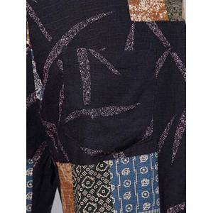 Tribal Print Drawstring Shorts - BLACK XL