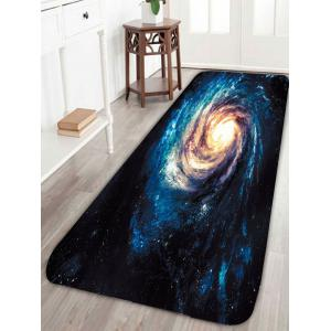 Skidproof Outer Space Universe Star Print Bath Rug