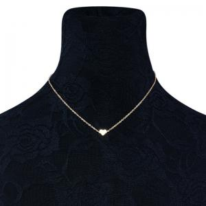 Heart Shape Collarbone Necklace