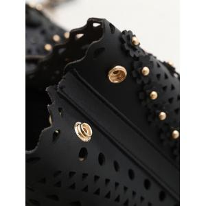 Sac à bandoulière Rivet Hollow Out -