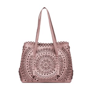 Sac à bandoulière Rivet Hollow Out - ROSE PÂLE