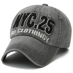 Letters Number Embroidered Nostalgic Baseball Cap