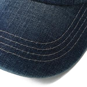 Letters Number Embroidered Baseball Hat - DEEP BLUE