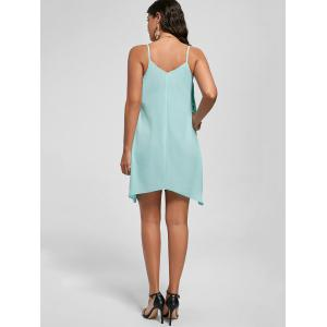 Overlay Flowy Cami Mini Dress - MINT 2XL