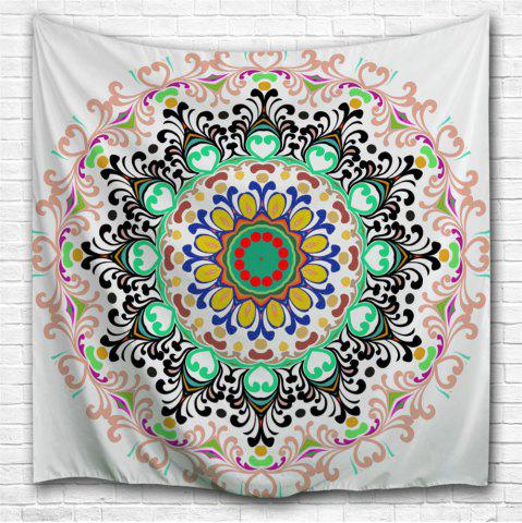 Fashion Wall Art Beach Blanket Indian Mandala Tapestry - W59 INCH * L59 INCH COLORMIX Mobile