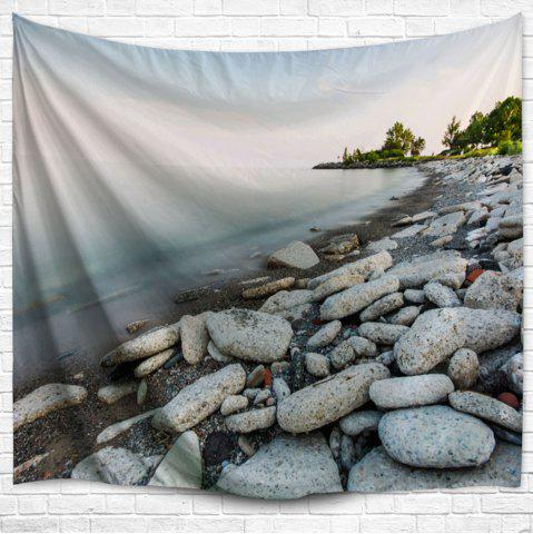 Lakeside Stone Throw Hanging Outdoor Blanket Tapestry