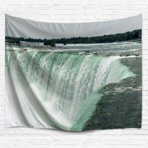 Trendy Waterfall Wall Art Decorative Hanging Tapestry - W51 INCH * L59 INCH COLORMIX Mobile