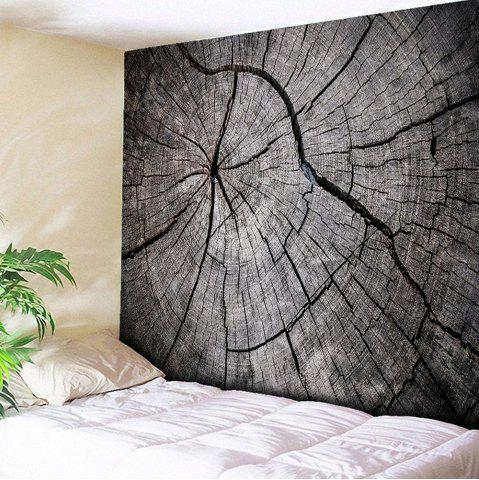 Buy Wall Hanging Rotten Wood Printed Tapestry - W51 INCH * L59 INCH WOOD COLOR Mobile