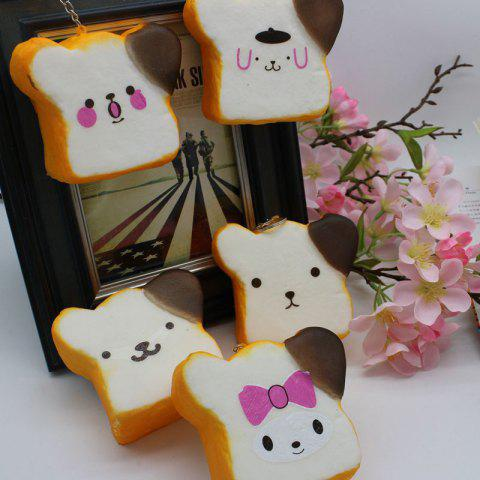 Best 1PC Random Simulation Toast Slow Rising Squishy Toy