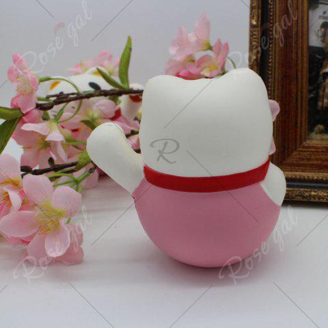 Shops Slow Rising Simulated Fortune Cat Squishy Toy - PINK  Mobile