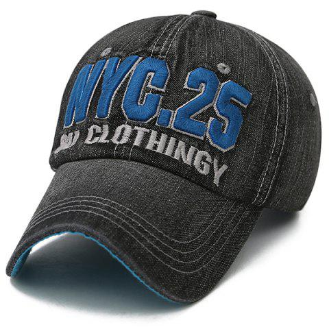 Discount Letters Number Embroidered Nostalgic Baseball Cap