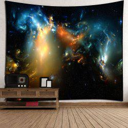 Milky Way Night Sky Waterproof Wall Art Tapestry