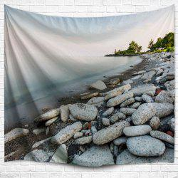 Lakeside Stone Throw Hanging Outdoor Blanket Tapestry -