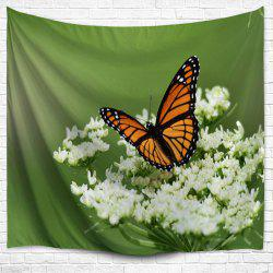 Butterfly Floral Wall Hanging Tapestry Home Decoration