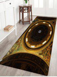 Church Ceiling Pattern Anti-skid Water Absorption Area Rug