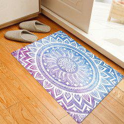 Mandala Pattern Anti-skid Water Absorption Area Rug