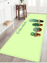 Ball Cactus Pattern Anti-skid Water Absorption Area Rug