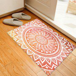 Bohemian Mandala Pattern Anti-skid Water Absorption Area Rug