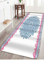 Extra Long Boho Mandala Nonslip Bath Rug
