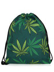 Print Nylon Drawstring Bag