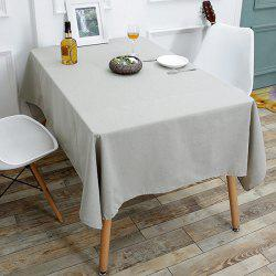 Kitchen Tool Linen Tablecloth - GRAY