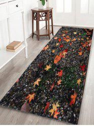 Maple Leaf Sand Floor Non Slip Area Rug