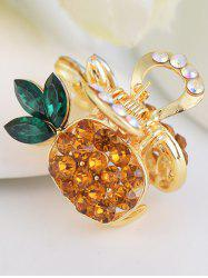 Pineapple Shape Rhinestone Inlay Hair Clip
