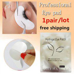Hydrogel Eyelash Paper Patches - WHITE