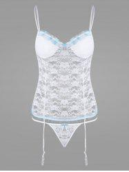 Lingerie Lace Padded Sheer Camisole