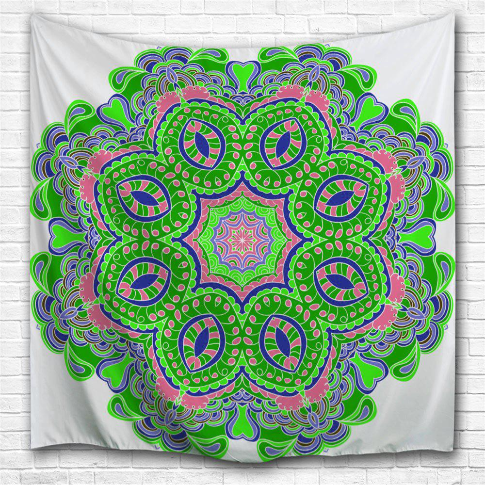 Vert largeur59pouces longeur59pouces d coration murale for Decoration murale mandala