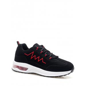 Embroider Line Air Cushion Athletic Shoes