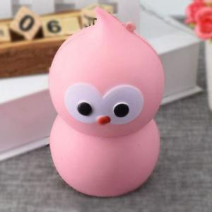 Lovely Simulation Gourd Slow Rising PU Squishy Toy - PINK 14CM*7.5CM