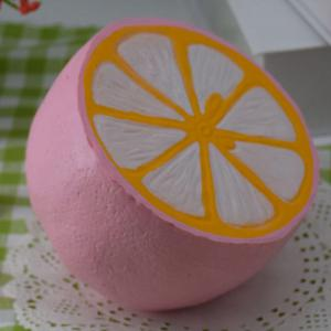 Pu Stress Relief Squishy Lemon Simulation Toy -