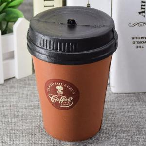 PU Simulation Coffee Cup Squishy Toy -
