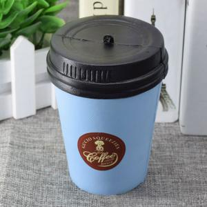 PU Simulation Coffee Cup Squishy Toy - Blue