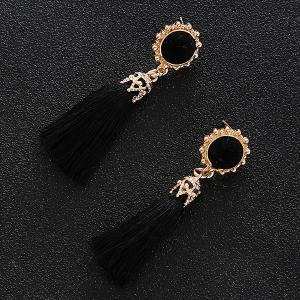 Tassel Sun Drop Earrings -