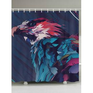 Eagle Painting Print Fabric Waterproof Bathroom Shower Curtain