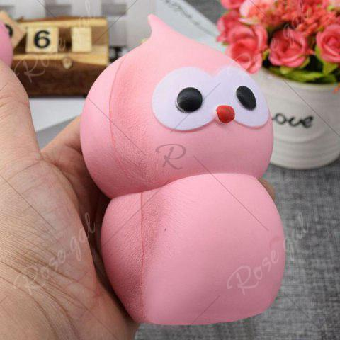 Fancy Lovely Simulation Gourd Slow Rising PU Squishy Toy - 14CM*7.5CM PINK Mobile