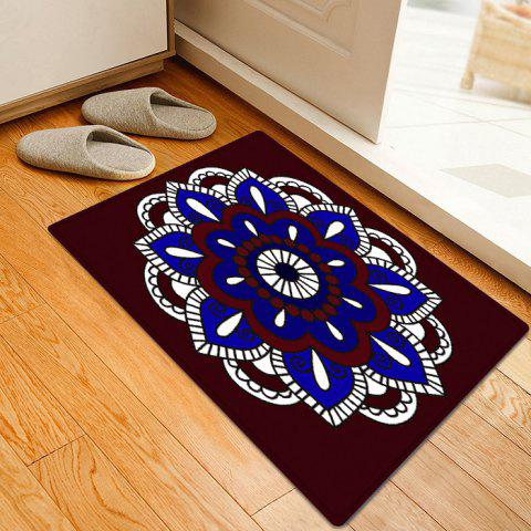 Shop Mandala Pattern Anti-skid Water Absorption Bohemian Area Rug - W16 INCH * L24 INCH COLORMIX Mobile