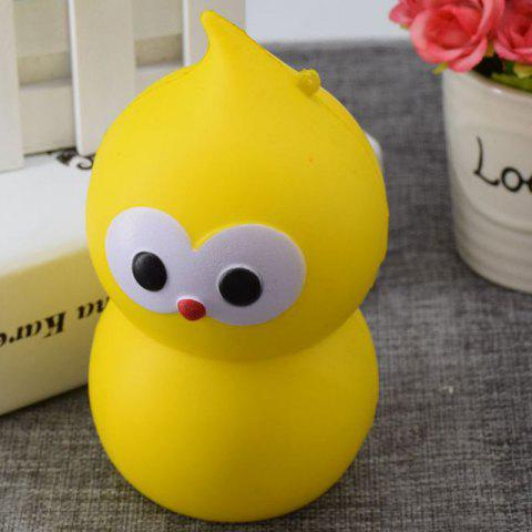 Discount Lovely Simulation Gourd Slow Rising PU Squishy Toy YELLOW 9.5CM*5.5CM