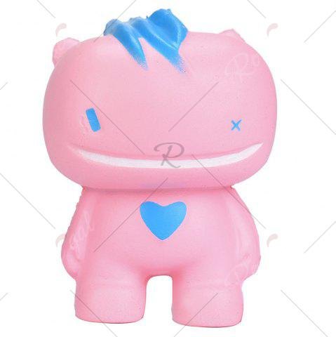 Shop Simulation Big Mouth Monster PU Squishy Toy - PINK  Mobile