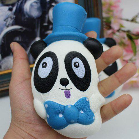Chic PU Slow Rebound Simulation Toy Squishy Panda - BLUE  Mobile