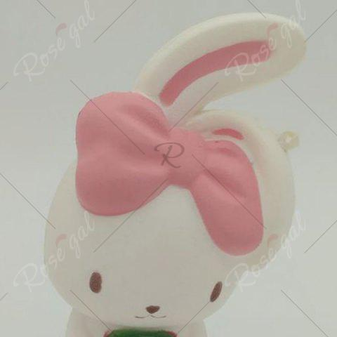 Shop Slow Rising Squishy Rabbit Simulation Toy - WHITE  Mobile