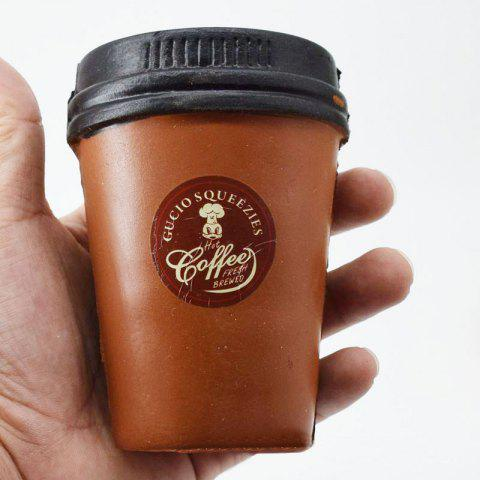 Store PU Simulation Coffee Cup Squishy Toy