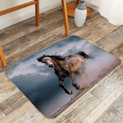 Hot Steed Shower Non Slip Absorbent Bathroom Mat - W16 INCH * L24 INCH COLORMIX Mobile