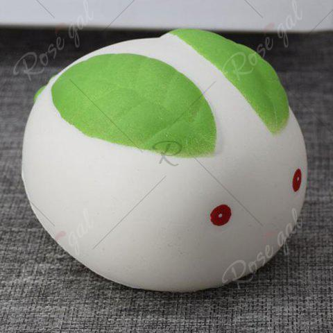 Sale Stress Relief Squishy Toy Simulation Steamed Bun - WHITE  Mobile