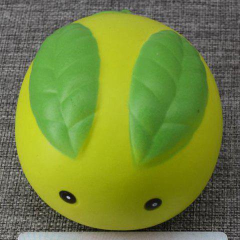 Hot Stress Relief Squishy Toy Simulation Steamed Bun GREEN