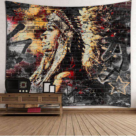 Outfit Ethnic Wall Hanging  Beach Throw Fabric Tapestry